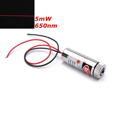 laser diode line generator 650nm 5mw focusable line laser module laser generator diode alex nld