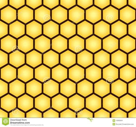 form design patterns abstract seamless pattern of honeycomb form stock vector