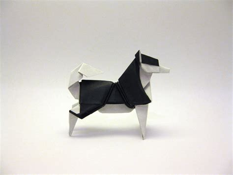 Origami Raccoon - origami husky by orimin on deviantart