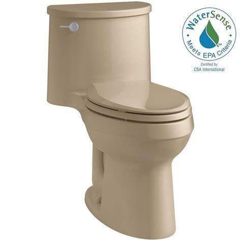 comfort height one piece toilet kohler adair comfort height 1 piece 1 28 gpf single flush