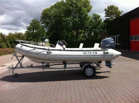 te koop rubberboot te koop rib rubberboot 5 5 meter met trailer
