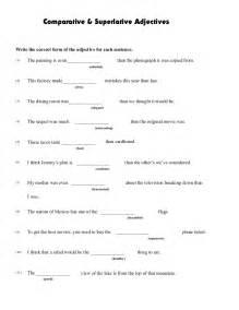 comparatives and superlatives worksheets abitlikethis