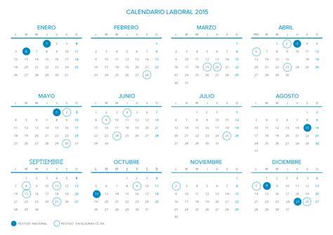 Calendario Cantabria 2015 Calendario Laboral 2015 Calendar Page