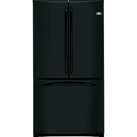 refrigerator counter depth door shop ge profile 20 7 cu ft door counter depth refrigerator with single maker black