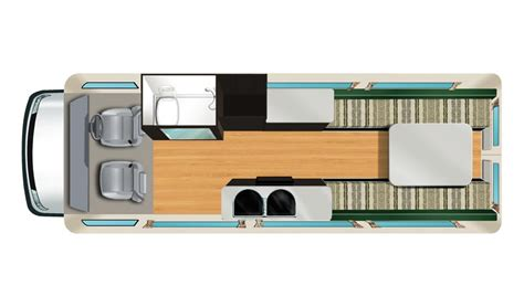 Compact Bathroom Floor Plans Campervan Rental In New Zealand 2 Berth Camper