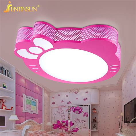 girls ceiling light new cute kitty led ceiling light l for simple creative