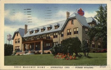 nurses building ohio masonic home springfield oh
