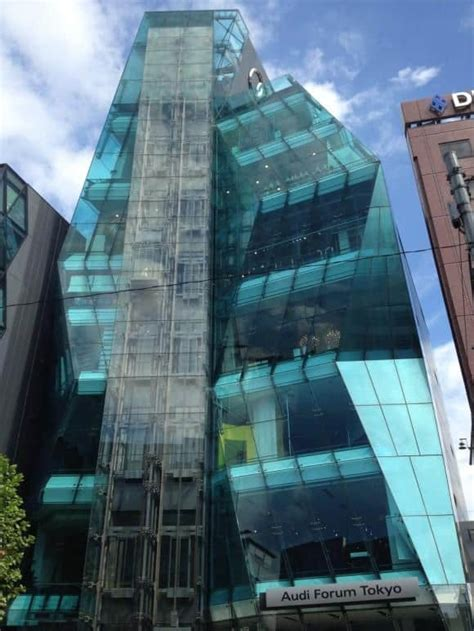 Japanese Modern Architecture half day walking tour omotesando s architecture tokyo