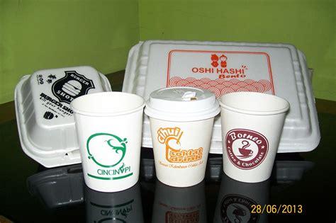 Jual Sablon Plastik Kemasan Makanan by Jual Kemasan Makanan Styrofoam