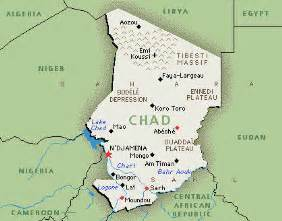 Chad Africa Map by The Sovereign Military Order Of Malta In Chad