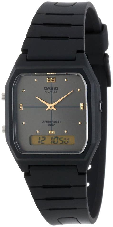 Casio Digital Analog Aw 48he 1 casio analog digital quartz dual time aw 48he 8avdf aw