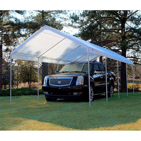 king canopy 10 x 27 ft universal canopy carport