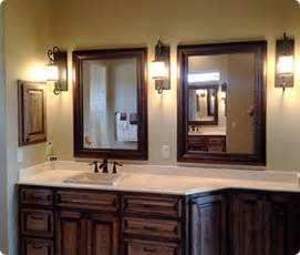 custom framed mirrors for bathrooms framed mirrors archives texascustommirrors