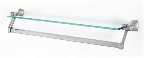 Shelf With Towel Bar by Cube Glass Shelf With Towel Bar A6527 25 Quot Creations Quot By