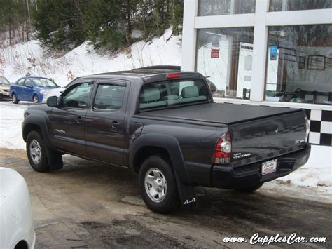 2011 Toyota Tacoma 4x4 6 Speed Manual Double Cab Pickup