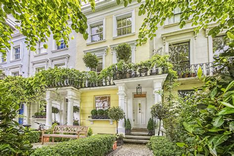 traditional home in notting hill wsj