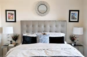 Neutral Bedroom - 34 gorgeous tufted headboard design ideas
