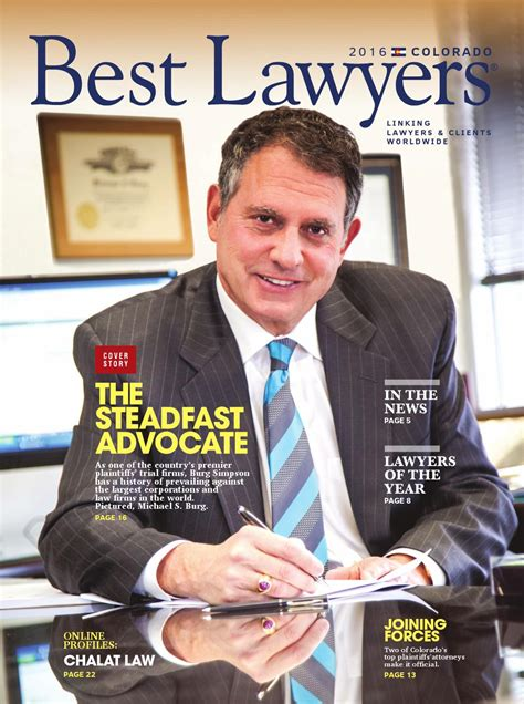 Best Mba For Lawyers by Best Lawyers In Colorado 2016 By Best Lawyers Issuu