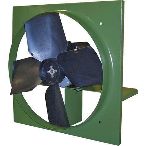 canarm wall exhaust fan canarm direct drive wall exhaust fan 24in 7 240 cfm