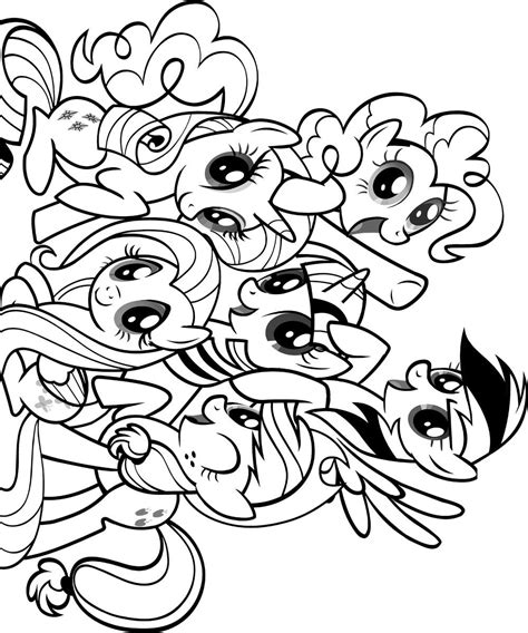 my little pony birthday party coloring pages free coloring pages of my little pony party favor