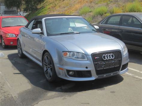 best auto repair manual 2008 audi rs4 on board diagnostic system 2008 audi rs4 v8 4 2l 6 speed manual silver on silver quattro salvage title