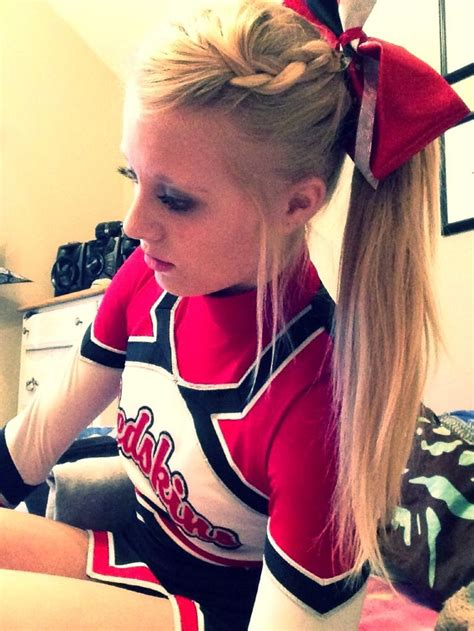 haircut competition games 91 best cheer hair images on pinterest cheer stuff