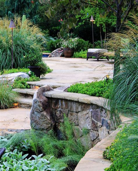 retaining wall patio design mclean virginia landscape patio design retaining walls