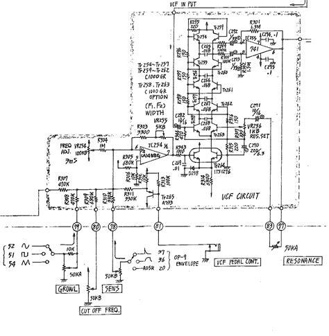 diode ladder filter schematic roland filter versions