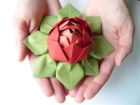 Origami Flowers Lotus - origami lotus flower caroline caroline