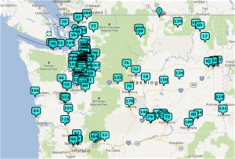 seattle microbreweries map an outsider s impression of wa 107 breweries in 2