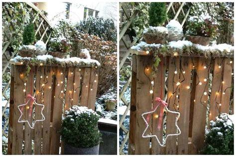 Weihnachtsdeko Mit Paletten by Weihnachtsdeko F 252 R Drau 223 En Kreative Ideen Zum Selberbasteln
