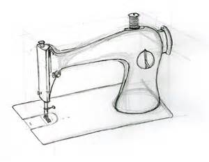 machine sketch sewing machine network 171 andy cox