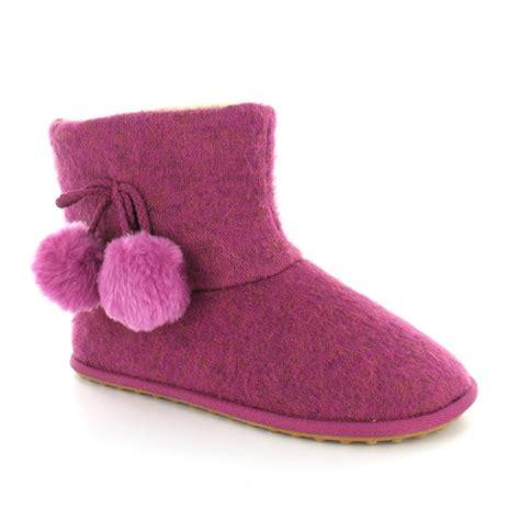 rocket slipper boots rocket snowflake df womens pom pom ankle boot slippers