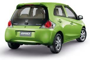 brio honda honda brio launches in thailand