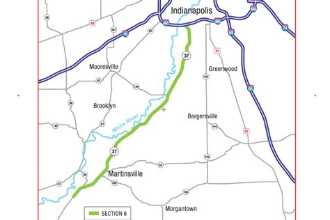 i69 section 5 indot lays out potential impact of i 69 from martinsville