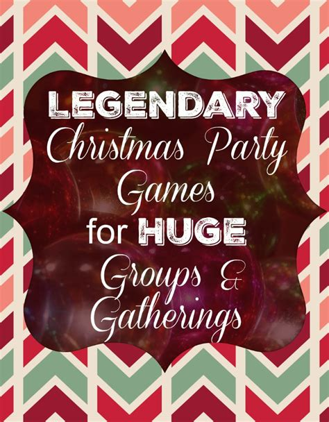 xmas games for large groups for large groups
