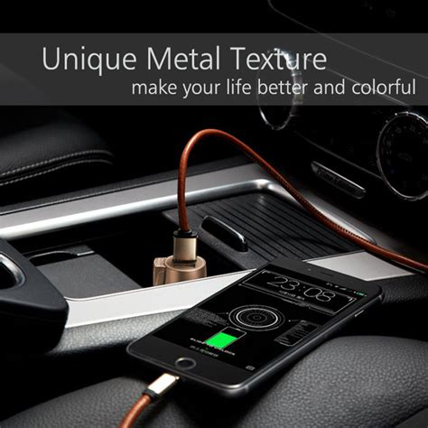 Charger Mobil Dual Slot Usb For Smartphone With Voltage 2010 floveme 5v 3 1a universal led dual usb car charger lighter slot mobile phone charger coins shopy