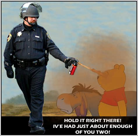 Pepper Spray Cop Meme - image 206140 casually pepper spray everything cop