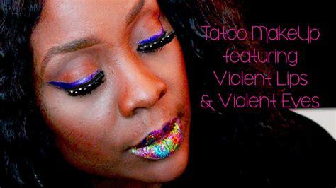tattoo lips tutorial violent lips lip tattoo tutorial youtube