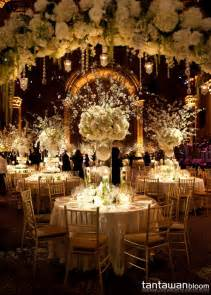 wedding reception romantic decoration