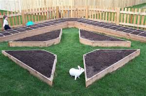 raised garden beds can be so simple and pretty