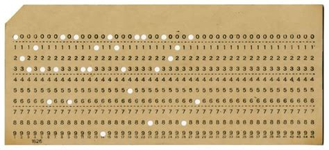 how to make punch cards punched cards chm revolution