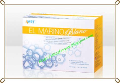 Elken El Marino Blanc 30 Sachet sihatforyou el marino blanc elken sanjungan buat kulit cerah berseri