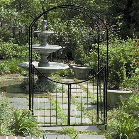 Garden Arbor Gate Designs 25 Best Ideas About Metal Garden Gates On