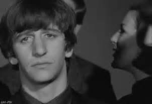 Ringo and george share a moment gif images5 fanpop com