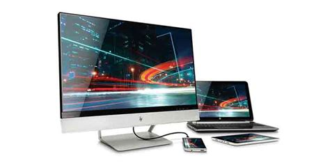 Monitor Hp 24 Inch hp envy 24 24 inch screen led lit monitor computers accessories
