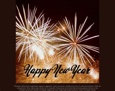 free new year email templates