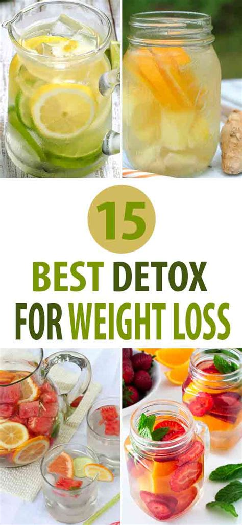 Best Detox For by 15 Best Detox Recipes For Weight Loss