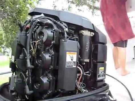 outboard engine compression test mercury evinrude johnson youtube