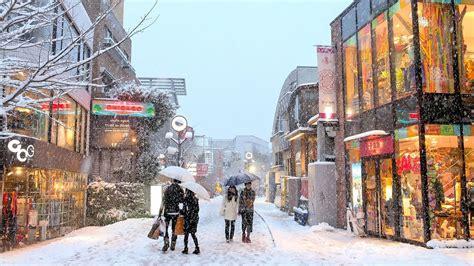 tokyo snow  youtube